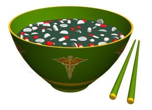 תזונה היא מרכיב חשוב ברפואה הסינית