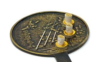 מגש טיפול ברפואה הסינית