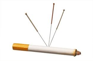 דיקור סיני לגמילה מעישון